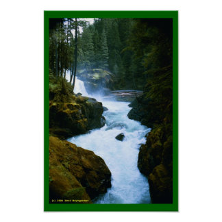 Mountain Waters Poster