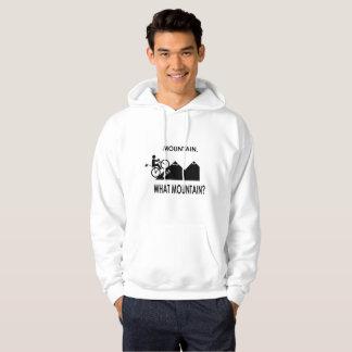 """Mountain. What mountain?"" hoodies for men"