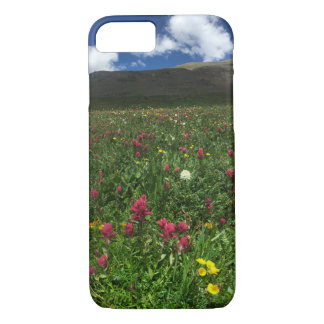 Mountain wildflowers Summertime iPhone 8/7 Case