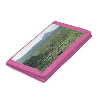 Mountain you climb wallet