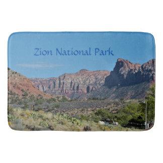 Mountain Zion National Park Bath Mat