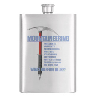 Mountaineering 2 hip flask