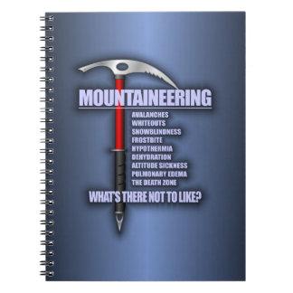 Mountaineering 2 notebook