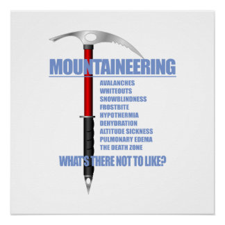 Mountaineering 2 poster
