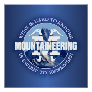Mountaineering (Endure) Poster