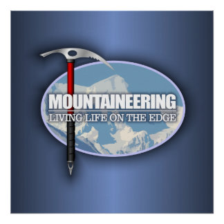 Mountaineering (Ice Axe) Poster