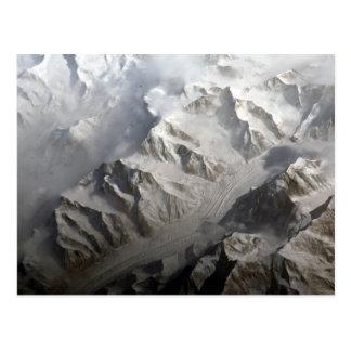 Mountainous Terrain Tian Shan Postcard