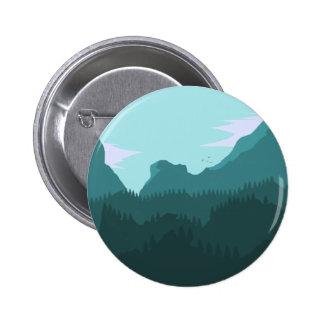 Mountains 6 Cm Round Badge