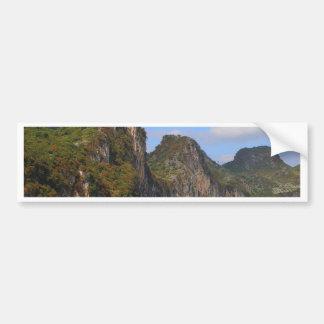 Mountains along Li River, China Bumper Sticker