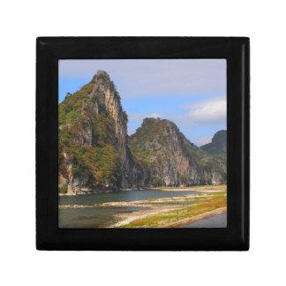 Mountains along Li River, China Gift Box