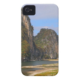 Mountains along Li River, China iPhone 4 Case-Mate Cases