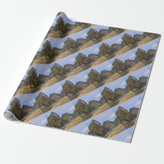 Mountains along Li River, China Wrapping Paper