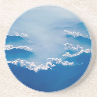 Mountains and Clouds Coaster