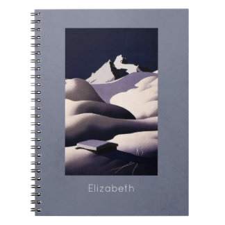 Mountains And Hills of Snow in Winter Notebook