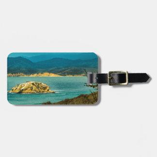 Mountains and Sea at Machalilla National Park Luggage Tag