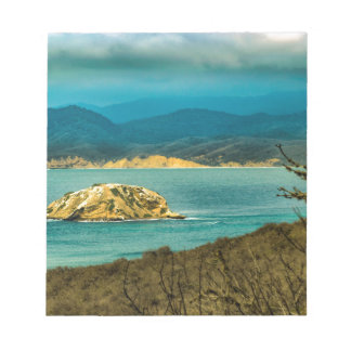 Mountains and Sea at Machalilla National Park Notepad