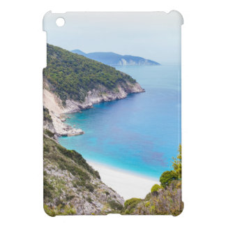 Mountains and sea in greek bay case for the iPad mini