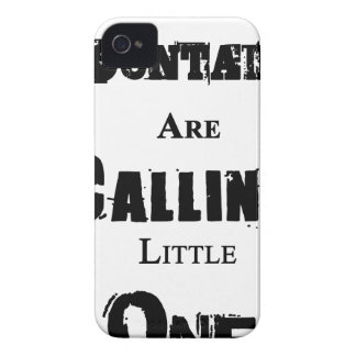 Mountains Are Calling Little One iPhone 4 Case