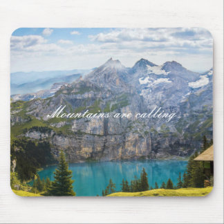 Mountains are calling mouse pad