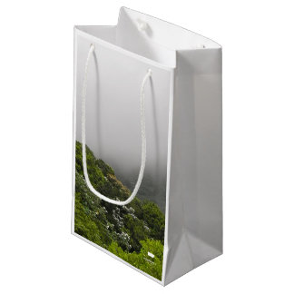 Mountains at the Rain Forest White Small Gift Bag