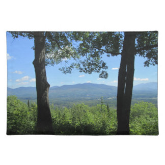 Mountains Between Two Trees Placemat
