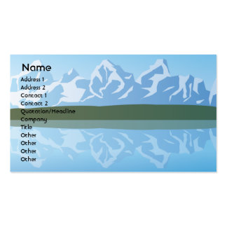 Mountains - Business Pack Of Standard Business Cards