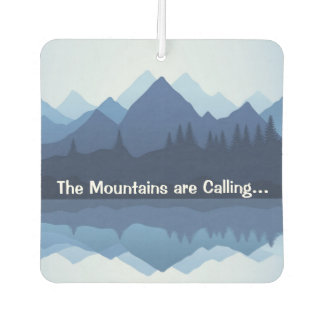 Mountains Design Air Freshener