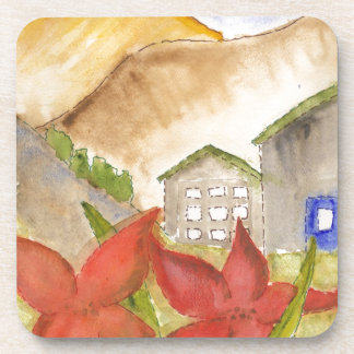 Mountains & Flowers Coaster