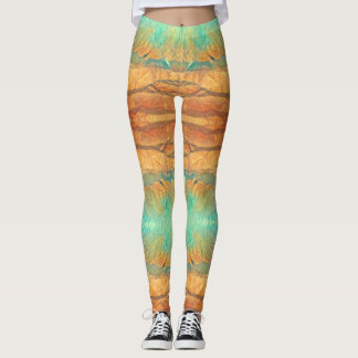 Mountains from the sky Leggings