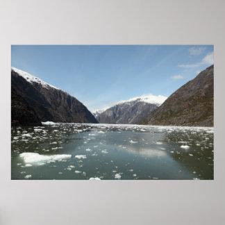 Mountains & Icebergs Print