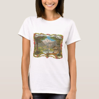 Mountains Idyllic Valley Countryside Father's Day T-Shirt