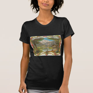 Mountains Idyllic Valley Countryside Father's Day T-shirts