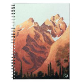 Mountains II Notebook