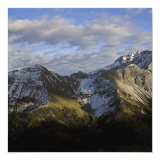 Mountains in Austria Custom Announcements