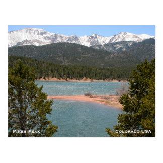 Mountains in Colorado Postcard