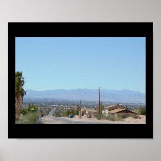 Mountains in Las Vegas Poster