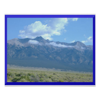 Mountains In the Clouds Poster