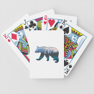 Mountains in the Mist Bicycle Playing Cards