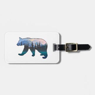 Mountains in the Mist Luggage Tag