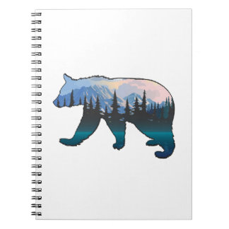 Mountains in the Mist Notebook
