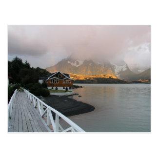 Mountains & Lake, Chile Postcard