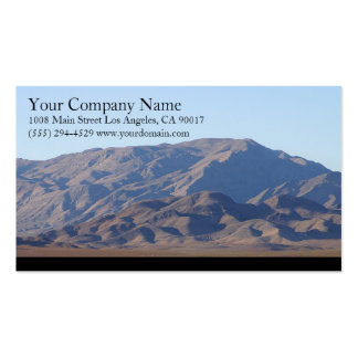 Mountains Light Blue Sky Pack Of Standard Business Cards