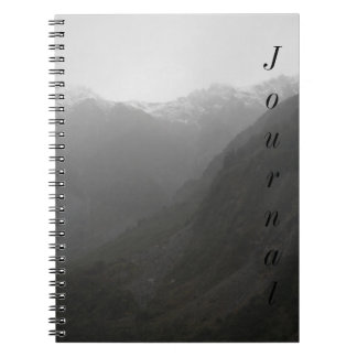 Mountains Notebook
