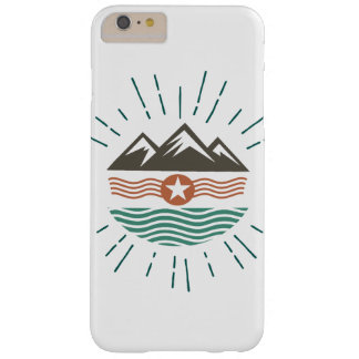 Mountains & Ocean Barely There iPhone 6 Plus Case