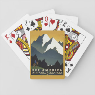 Mountains of Montana Playing Cards