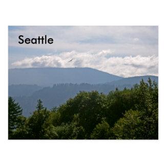 Mountains of Seattle Postcard