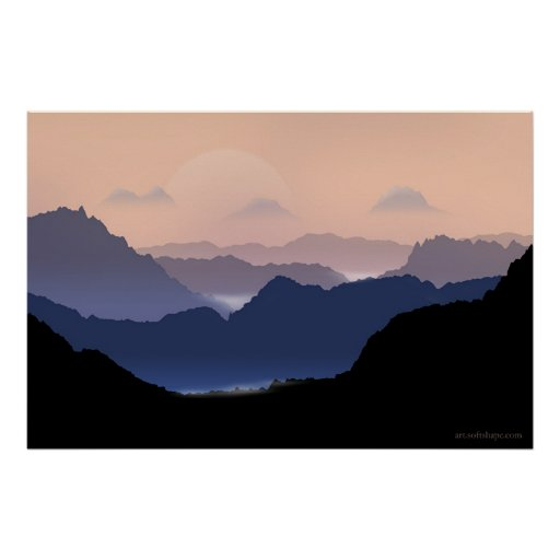 Mountains Posters