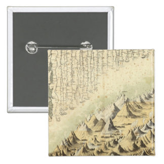 Mountains & Rivers 15 Cm Square Badge