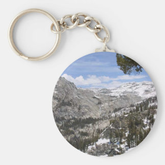 Mountains Sierras Key Ring