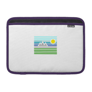 mountains sleeve for MacBook air